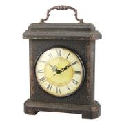 CKK Home D cor, LP Stonebriar Wood and Metal Mantel Clock