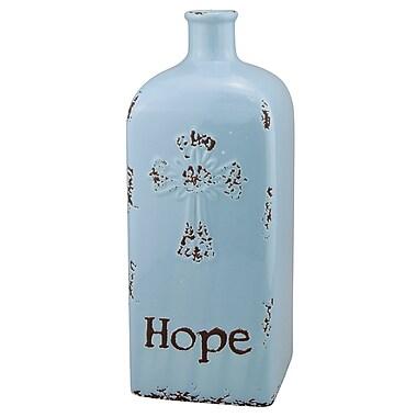 CKK Home D cor, LP Stonebriar Ceramic Hope Table Vase