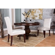 Starfish Side Chair (Set of 2); Chenille - Ivory