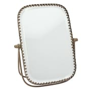 CKK Home D cor, LP Stonebriar Brass Metal Beveled Accent Mirror