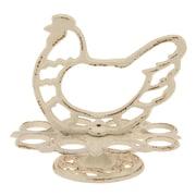 CKK Home D cor, LP Stonebriar Iron Hen Figurine