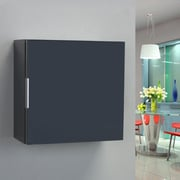Eviva Libra 14'' W x 13.75'' H Wall Mounted Cabinet; Gray