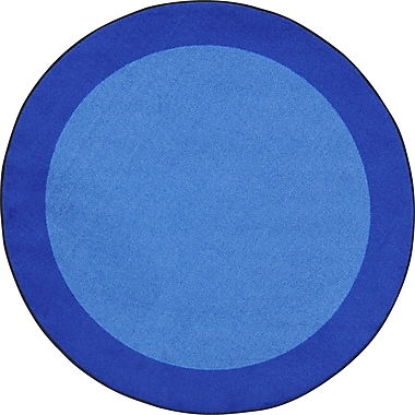 Joy Carpets – Tapis All Around, 5 pi 4 po, rond, bleu