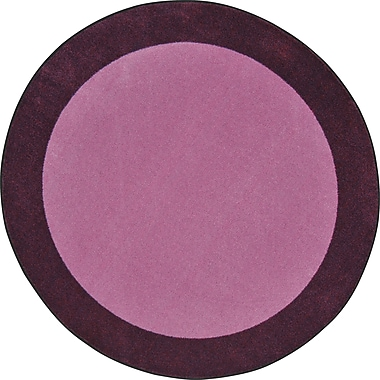 Joy Carpets – Tapis All Around, 5 pi 4 po x 7 pi 8 po, violet