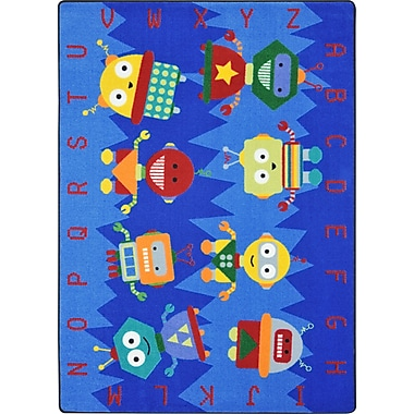 Joy Carpets Alphabet Bots, 10'9