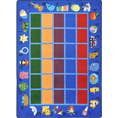Joy Carpets Alphabet Phonics, 7'8