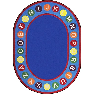 Joy Carpets Alphabet Spots, 7'8