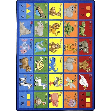 Joy Carpets Animal Phonics, 10'9