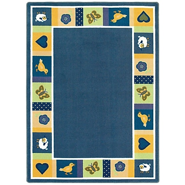 Joy Carpets – Tapis Baby Blues, 3 pi 10 po x 5 po, ovale