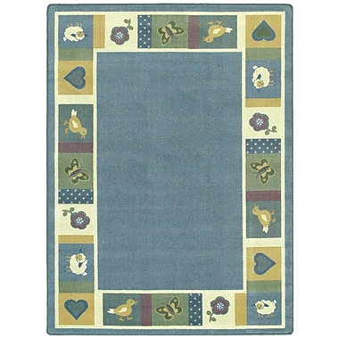 Joy Carpets – Tapis Baby Blues, 5 pi 4 po x 7 pi 8 po, ovale, teintes douces