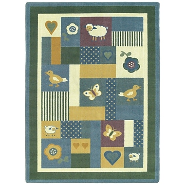 Joy Carpets – Tapis Baby Love, 10 pi 9 po x 13 pi 2 po, teintes douces