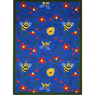 Joy Carpets Bee Attitudes, 7'8