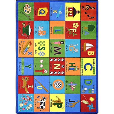 Joy Carpets Bilingual Phonics, 10'9