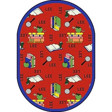 Joy Carpets Bookworm (Spanish), 10'9