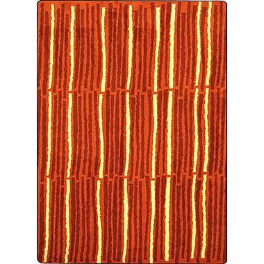 Joy Carpets – Tapis Cascade, 3 pi 10 po x 5 pi 4 po, orange