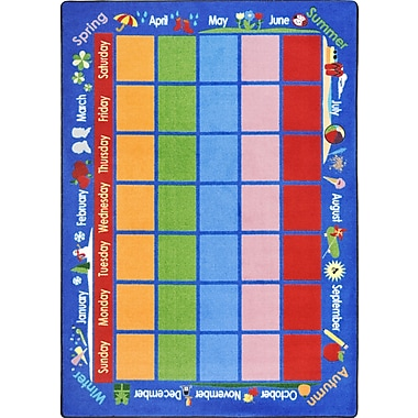 Joy Carpets Celebrations Calendar, 7'8