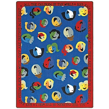 Joy Carpets – Tapis Children of the World, 5 pi 4 po x 7 pi 8 po, couleurs variées