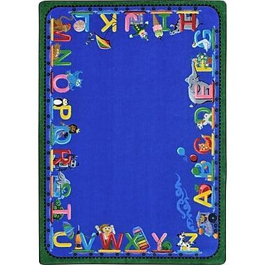 Joy Carpets – Tapis Choo Choo Letters, 7 pi 8 po x 10 pi 9 po