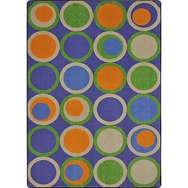 Joy Carpets – Tapis Circle back, 7 pi 8 po x 10 pi 9 po