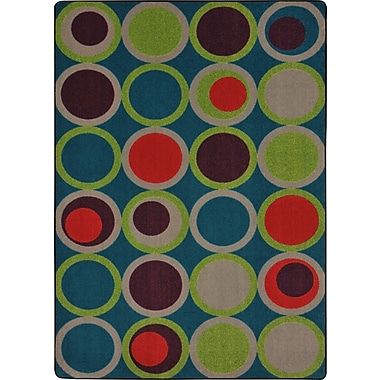 Joy Carpets – Circle Back, 10 pi 9 po x 13 pi, Tropiques