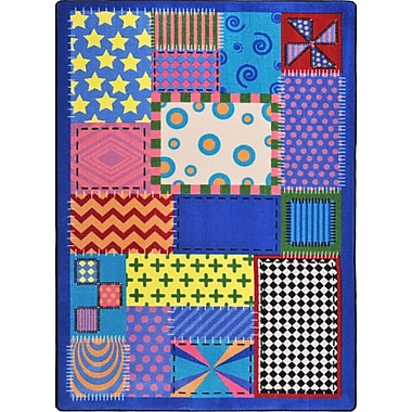 Joy Carpets Crazy Quilt, 10'9