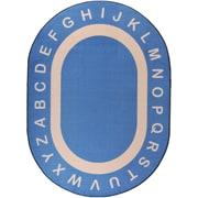 """Joy Carpets Endless Alphabet, 7'8"""" x 10'9"""""""