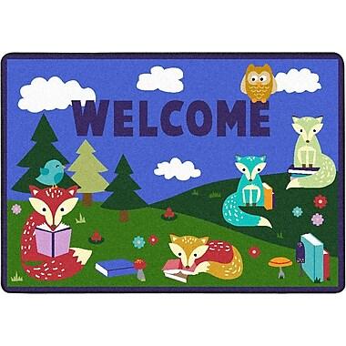 Joy Carpets – Tapis Foxy Readers, 2 pi 8 po x 3 pi 10 po, couleurs variées