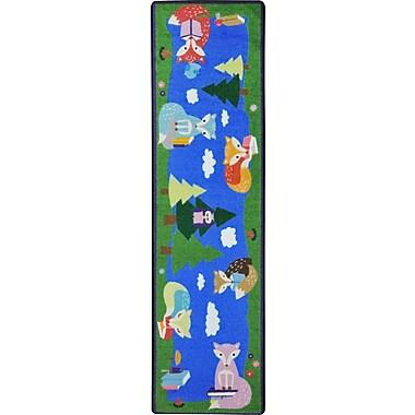 Joy Carpets – Tapis Foxy Readers, 2 pi 1 po x 7 pi 8 po, couleurs variées