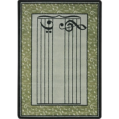 Joy Carpets – Tapis Fully Staffed, 7 pi 8 po x 10 pi 9 po, sauge