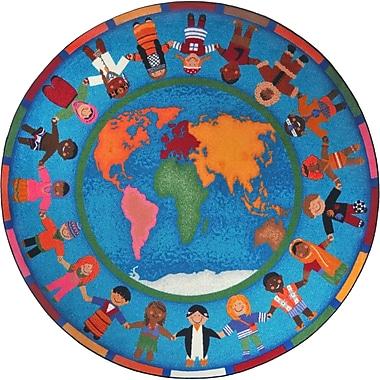 Joy Carpets Hands Around the World, 7'7
