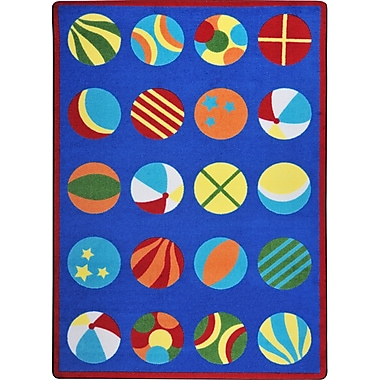 Joy Carpets – Tapis Have a ball, 7 pi 8 po x 10 pi 9 po, multicolore