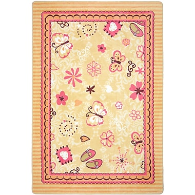 Joy Carpets – Tapis Hearts and flowers, 3 pi 10 po x 5 pi, multicolore