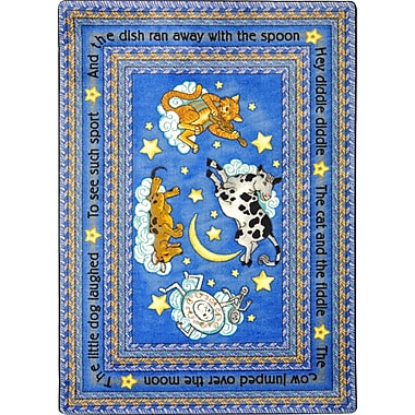 Joy Carpets – Tapis Hey Diddle Diddle, 3 pi 10 po x 5 po