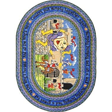Joy Carpets – Tapis Humpty Dumpty, 7 pi 8 po x 10 pi 9 po, ovale, couleurs variées