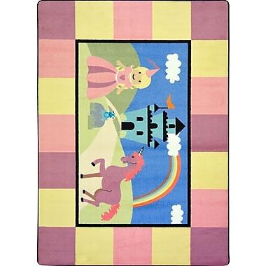 Joy Carpets – Tapis Lil'Princess, 5 pi x 5 pi 7 po, Couleurs variées