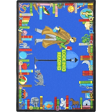 Joy Carpets – Tapis Look into reading, 5 pi x 7 pi 8 po, multicolore