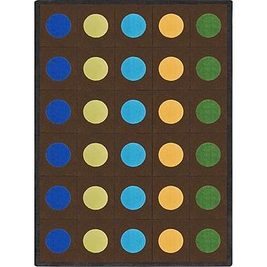 Joy Carpets Lots of Dots, 7'8