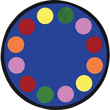 Joy Carpets Lots of Dots, 7'7