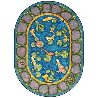 Joy Carpets – Tapis Maria's Garden, 3 pi 10 po x 5 pi, ovale, couleurs variées