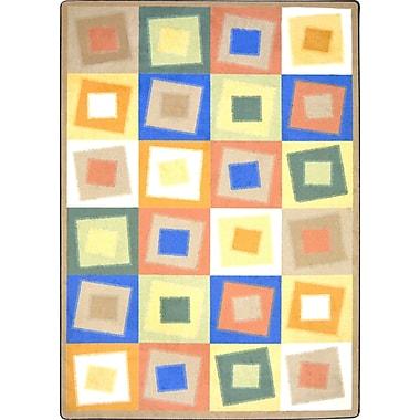 Joy Carpets – Tapis Off Balance, 3 pi 10 po x 5 pi, couleurs douces