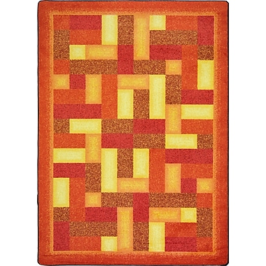 Joy Carpets – Tapis Off beat, 3 pi 10 po x 5 pi