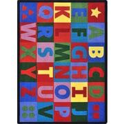 """Joy Carpets Oversize Alphabet, 7'8"""" x 10'9"""""""