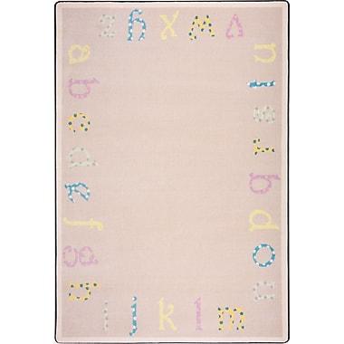 Joy Carpets Polka Dot ABC's, 3'10