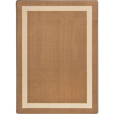 Joy Carpets – Tapis Portrait, 5 pi x 7 pi 8 po, moka