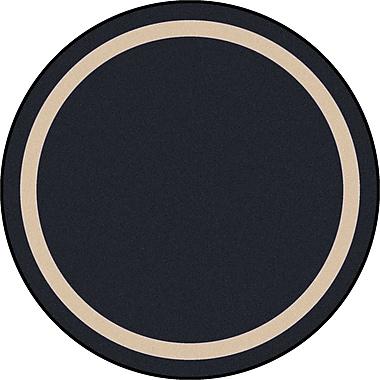Joy Carpets – Tapis Portrait, 7 pi 7 po, Rond onyx