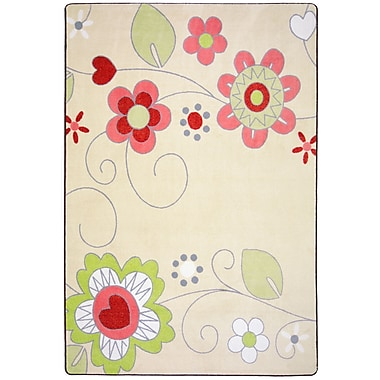 Joy Carpets Pretty Posies, 10'9