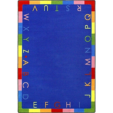 Joy Carpets Rainbow Alphabet, 7'7