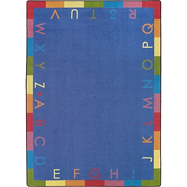 Joy Carpets Rainbow Alphabet, 10'9