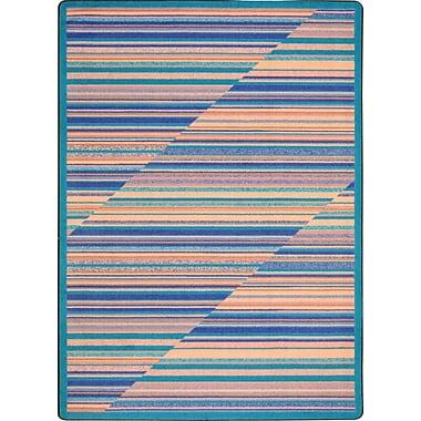Joy Carpets – Tapis Rhythm, 3 pi 10 po x 5 pi, eau