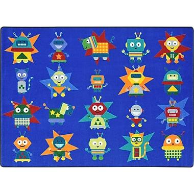 Joy Carpets Robot Invasion, 10'9